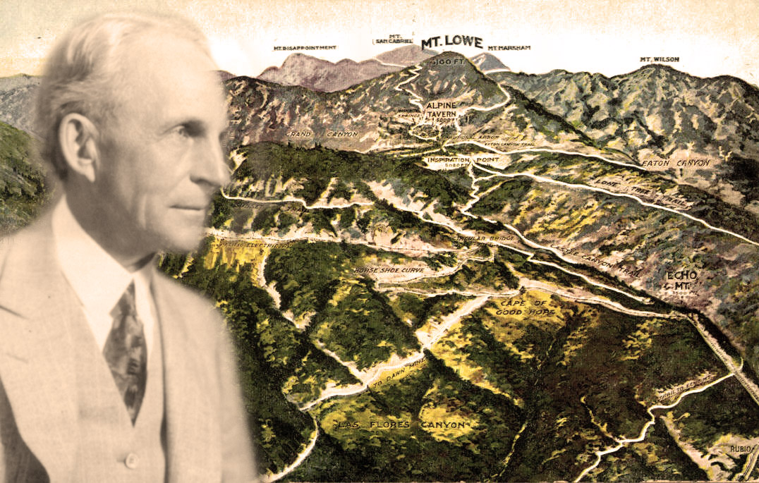 Henry Ford Visits Mount Lowe
