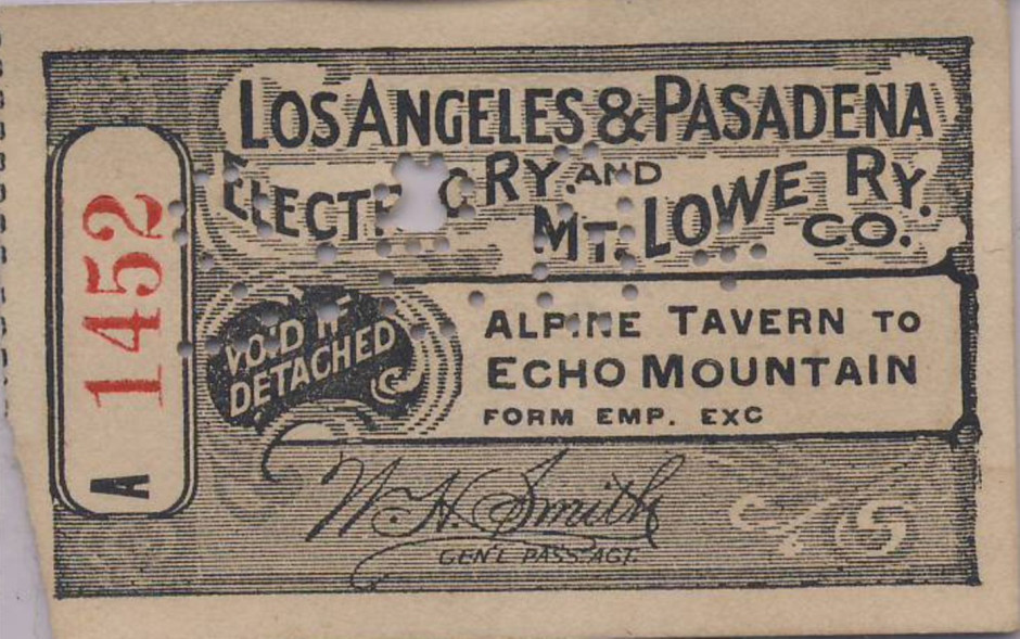 Mount Lowe Preservation Society Collection